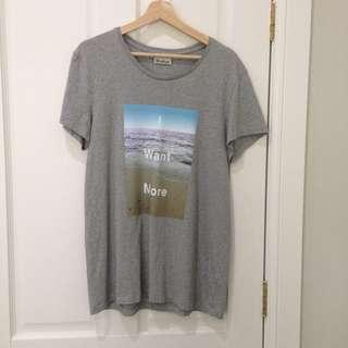 ACNE STUDIOS I Want More printed T-Shirt Size M AW14