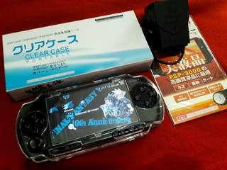 Black Blue PSP fat 1000 v6.60 4gb Downloadable