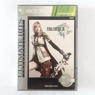 Xbox 360 Game Final Fantasy XIII Platinum Hits