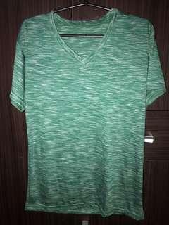 Green, soft shirt