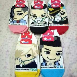 [ LOT OF 5 ] K-pop Big Bang Socks Set of 5