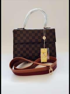 Tas lv sling bag import premium