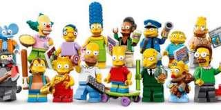 Lego 71006 the simpsons series 1