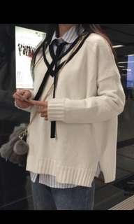 🚚 米白色毛衣