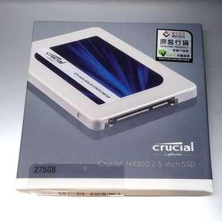 Crucial MX300 2.5inch mobile SSD 275GB