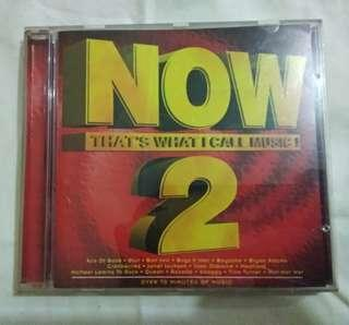 """CD music """"Now that's what I call music #2"""""""