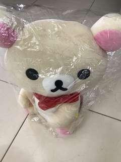 Brand new Rilakkuma toy wrapped in plastic