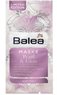 Balea Pearl & Glow Mask (limited edition)