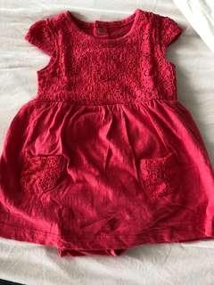 Carters Baby Romper Dress