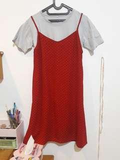 Polkadot outer dress