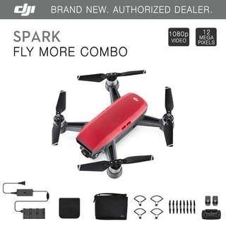 DJI Spark Flymore Combo/Ready Stock/Local 1 Year DJI Warranty!