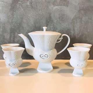Teapot Set - Modern Design Chinaware Fine China