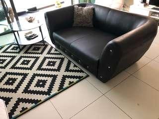 Charcoal Black Sofa