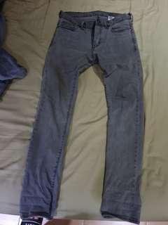 H&M low waist slim jeans