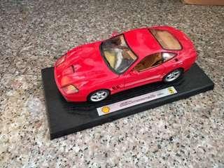 1/18 Burago Ferrari 550 Maranello