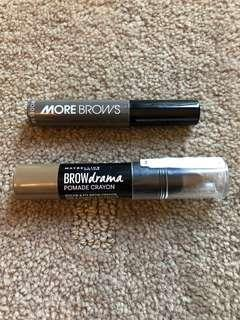 Maybelline Brow Crayon & Model Brow Mascara