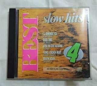"""CD music """"Best Slow Hits 4'"""