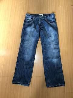 H & M men's denim pants size 34