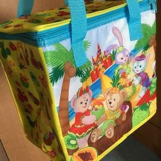 香港迪士尼 duffy 保溫袋 野餐袋