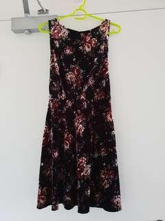 Valleygirl floral dress - S
