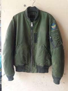 BOMBER Jacket Type MA.1 Talon Zip