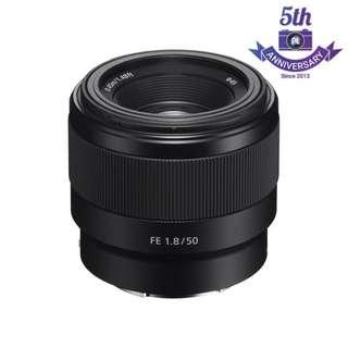 New Sony FE 50mm F1.8 Lens For Full Frame A7II A7 Mark III, A7R II