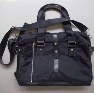 Zinc black sling carry bag