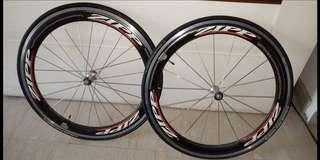 A pair of Zipp 404 10speed Clinchers for fast sale!