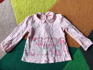 #blessing 12-18months mothercare baby girl bunny top