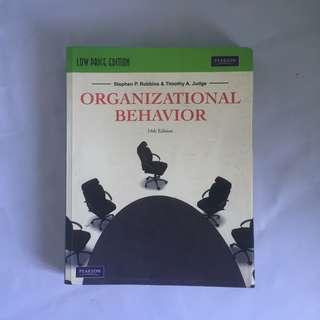 Organizational Behavior Management book