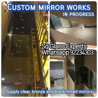 Custom mirror specialise in landed property, bungalow, terraces, condominiums