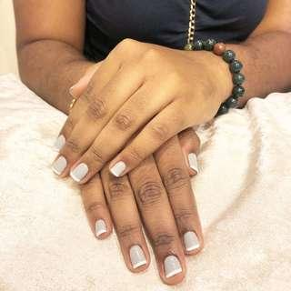 Classic Gel Manicure with French nails