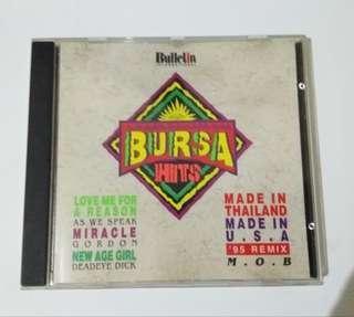 """CD music """"Bursa Hits"""""""