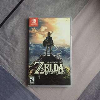 Nintendo Switch The Legend Of Zelda : Breath Of The Wild #SINGLES1111
