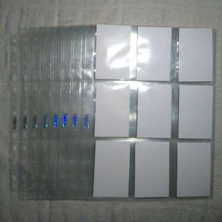 Max Protection 9 Pocket Sleeve Binder 2/3/4/11 ring