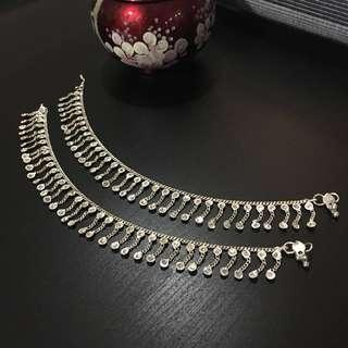 India Pure Silver Anklet