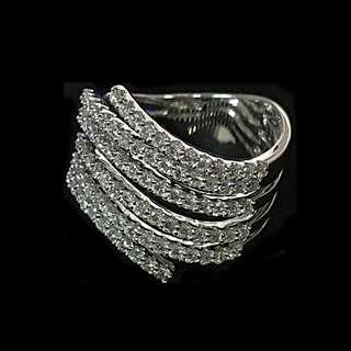 750WHITE GOLD WITH DIAMONDS RING