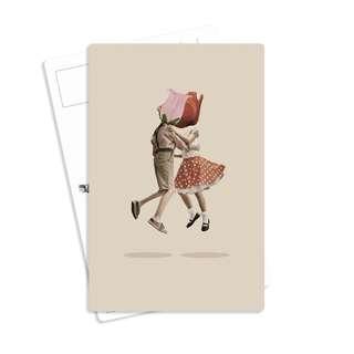 Book Bookmark Card for Sale - Design Floral Dress Valentine Gift Alice
