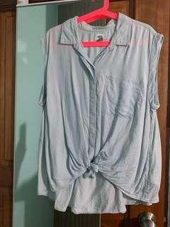 Old Navy - sleeveless denim top