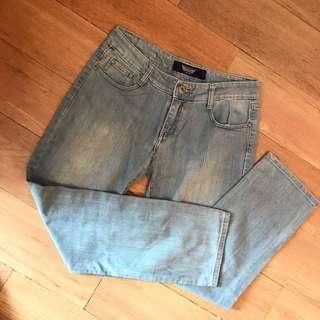 USA light blue denim jeans