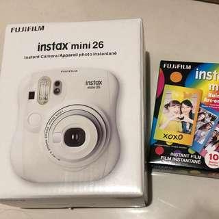 Sale! BN Fujifilm Instax Mini 26 + Ranbow film
