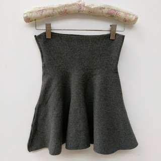 🚚 灰色針織短裙