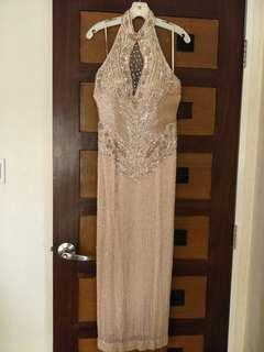 Elegant Formal Evening Gown