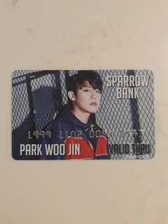 🚚 (INSTOCK)WOOJIN PVC CARD