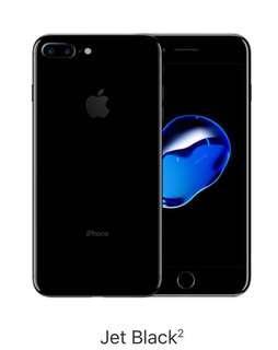 Jet Black Iphone 7 plus 128GB