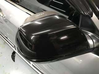 Vezel side mirror glossy black wrap!!