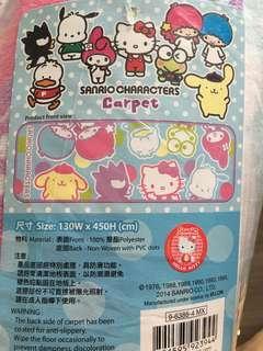 Sanrio Characters 卡通長地墊(全新)