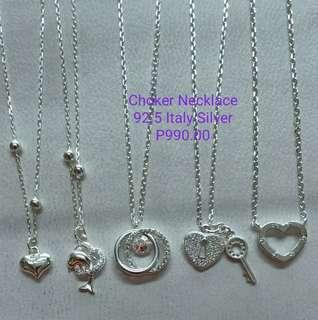Silver Chocker Necklace