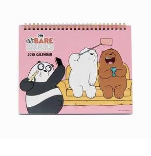[PO] We Bare Bear Calendar 2019