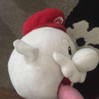 Mario Galaxy Mario boo plush doll